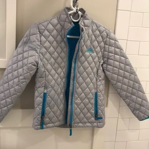 Other - Never worn - NEW w/o tags grey/silver puffy coat